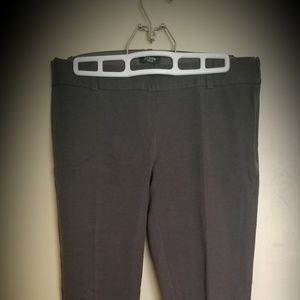 J crew stretch city fit trousers